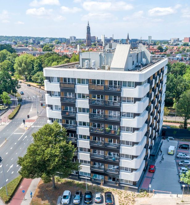 Eemside Apartments luchtfoto